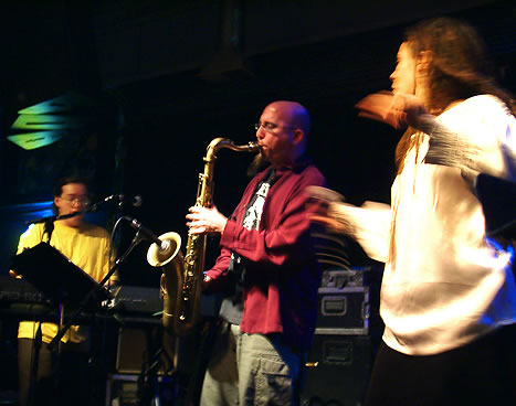 GSBE - Graham, Jeff Coffin, & Annie Sellick